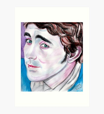 Lee Pace, Pushing Daisies Art Print
