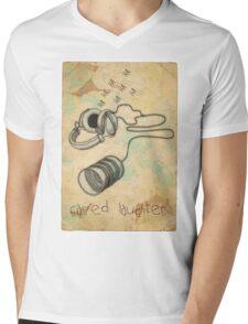 canned laughter Mens V-Neck T-Shirt