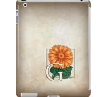 G is for Gerbera iPad Case/Skin