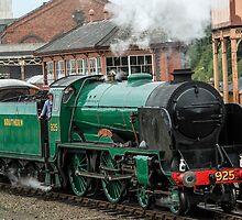 Cheltenham, Steam Engine 925 by Nick Jenkins