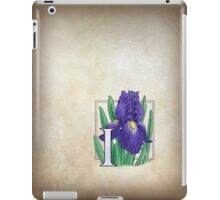 I is for Iris iPad Case/Skin