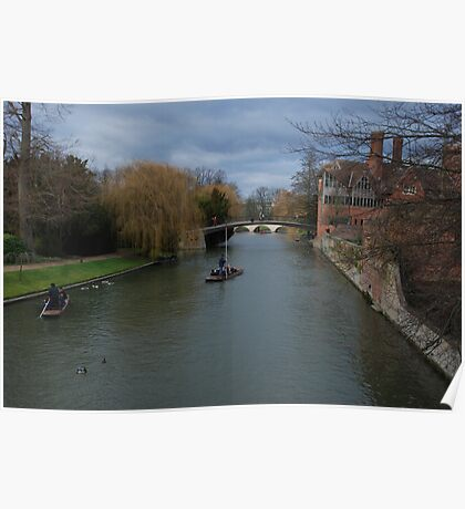 Cambridge Landscape Poster