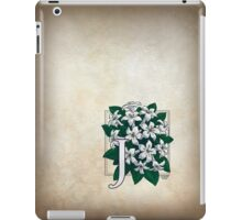 J is for Jasmine - full image iPad Case/Skin