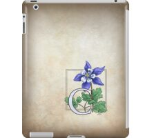C is for Columbine iPad Case/Skin