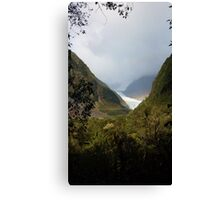Land of Rainbows and Glaciers Canvas Print