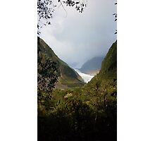 Land of Rainbows and Glaciers Photographic Print