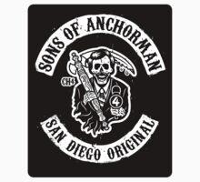 Sons of Anchorman (Sticker) by Brandon Wilhelm