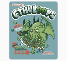 Cthuloops! All New Flavors! (Sticker) by Brandon Wilhelm