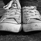 Black and White Converses by Elinor Barnes