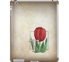 T is for Tulip iPad Case/Skin