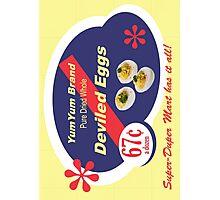 Yum Yum Deviled Eggs Photographic Print