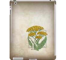 Y is for Yarrow iPad Case/Skin