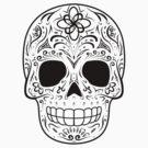 Sugar Skull - Traditional by hmx23