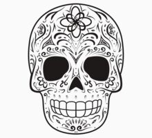 Sugar Skull - Traditional by hmx23