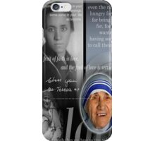 mother teresa iPhone Case/Skin