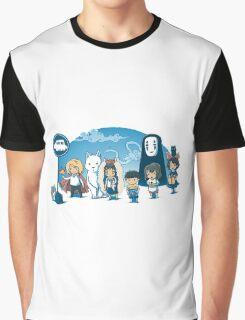 Ghibli Graphic T-Shirt