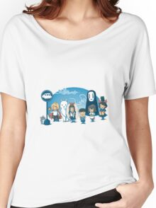 Ghibli Women's Relaxed Fit T-Shirt