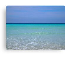The colors of the sea Canvas Print