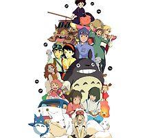 Studio Ghibli by DinaPurifoy