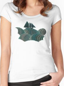 The Open Sea Women's Fitted Scoop T-Shirt