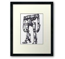 Hyperion Robot Framed Print