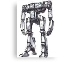 Hyperion Robot Canvas Print