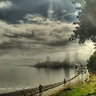 A foggy September morning in Nanaimo, BC by Trish  Hooker