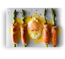 Egg & Bacon Canvas Print