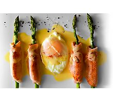 Egg & Bacon Photographic Print