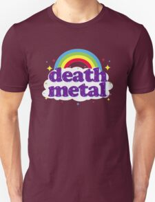 Cute Death Metal Rainbow Funny Swag T-Shirt