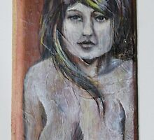 nude on wood. by resonanteye
