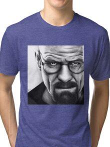 Walter White - Portrait Tri-blend T-Shirt