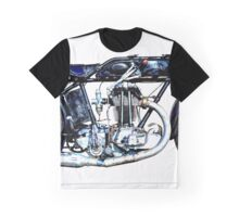 1927 Vintage A-J-S Motorcycle Graphic T-Shirt
