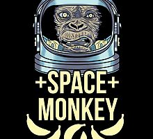 Space Monkey by AhamSandwich