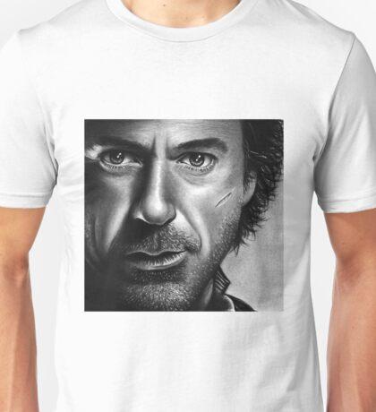 Robert Downy Jr - Sherlock Holmes Unisex T-Shirt