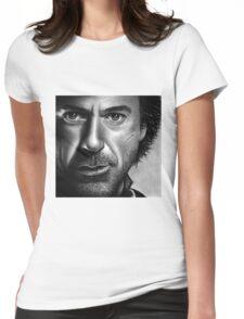 Robert Downy Jr - Sherlock Holmes Womens Fitted T-Shirt