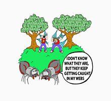 Spider Web Humor Unisex T-Shirt