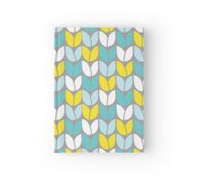 Tulip Knit (Aqua Gray Yellow) Hardcover Journal