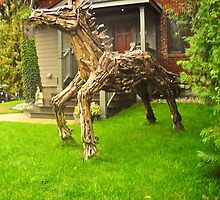Teak Horse by Shulie1