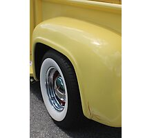 Yellow Cream Photographic Print