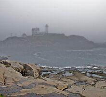 Nubble Lighthouse, Maine by Carolyn Clark