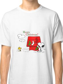 merry christmas snoopy Classic T-Shirt