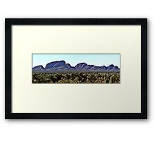 The Olgas Central Australia Framed Print