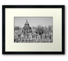 Untitled Graveyard Photo #3 Framed Print
