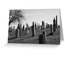Untitled Gravestone Photo #4 Greeting Card