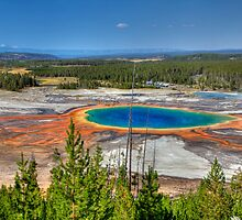 Grand Prismatic Spring, Yellowstone National Park by activebeck2012