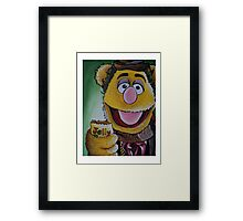 Fozzie, Fourth Doctor Framed Print
