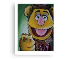 Fozzie, Fourth Doctor Canvas Print