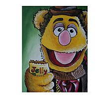 Fozzie, Fourth Doctor Photographic Print