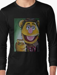 Fozzie, Fourth Doctor Long Sleeve T-Shirt